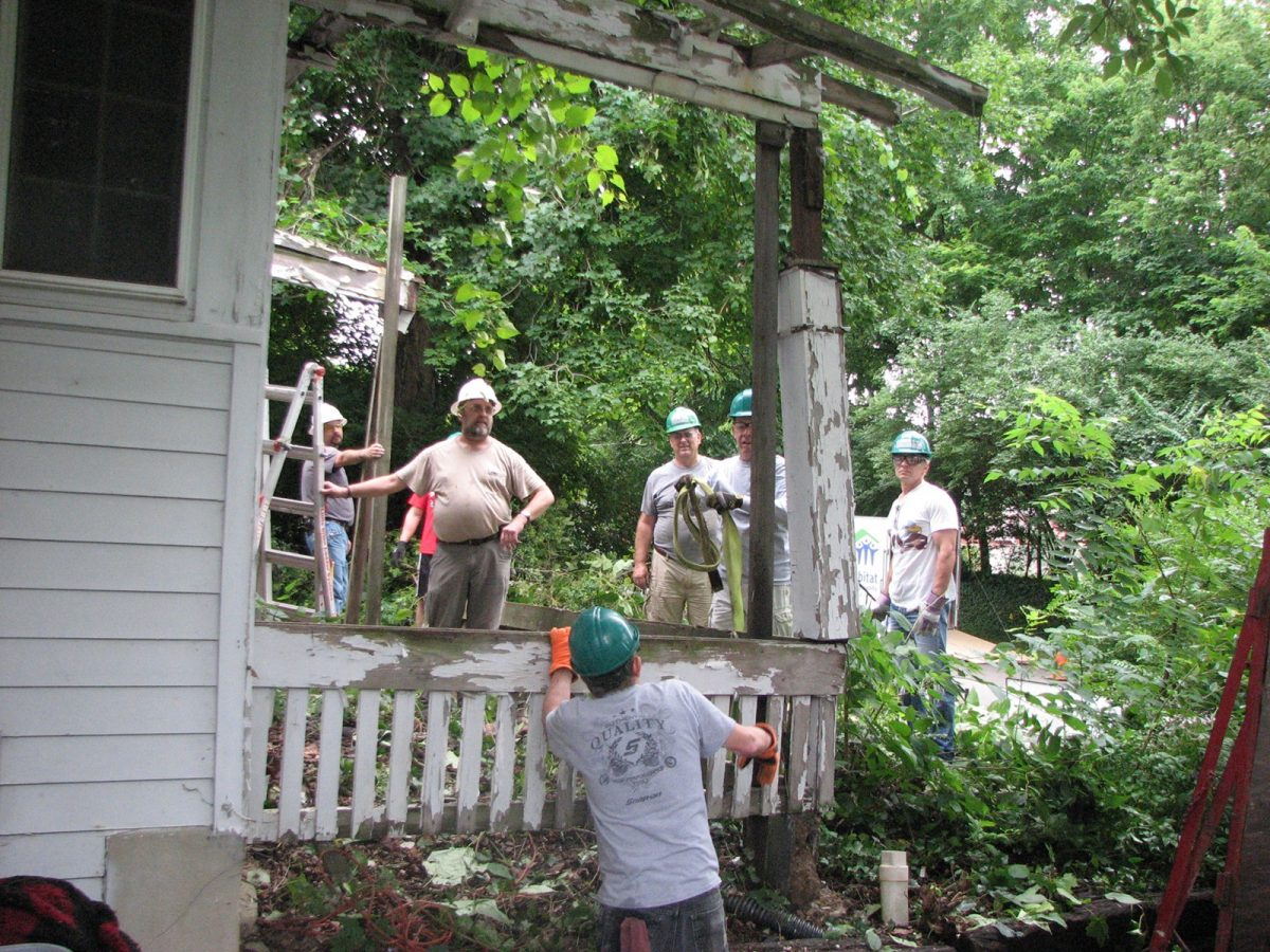 Our Critical Home Repair Project Continues This Week!